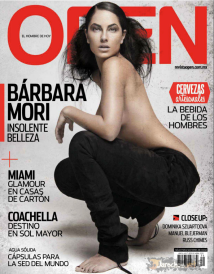 Barbara Mori Revista OPEN 01