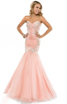 chiffon-pink-peach-sparkle-ruched-prom-dress-P4812-621x960